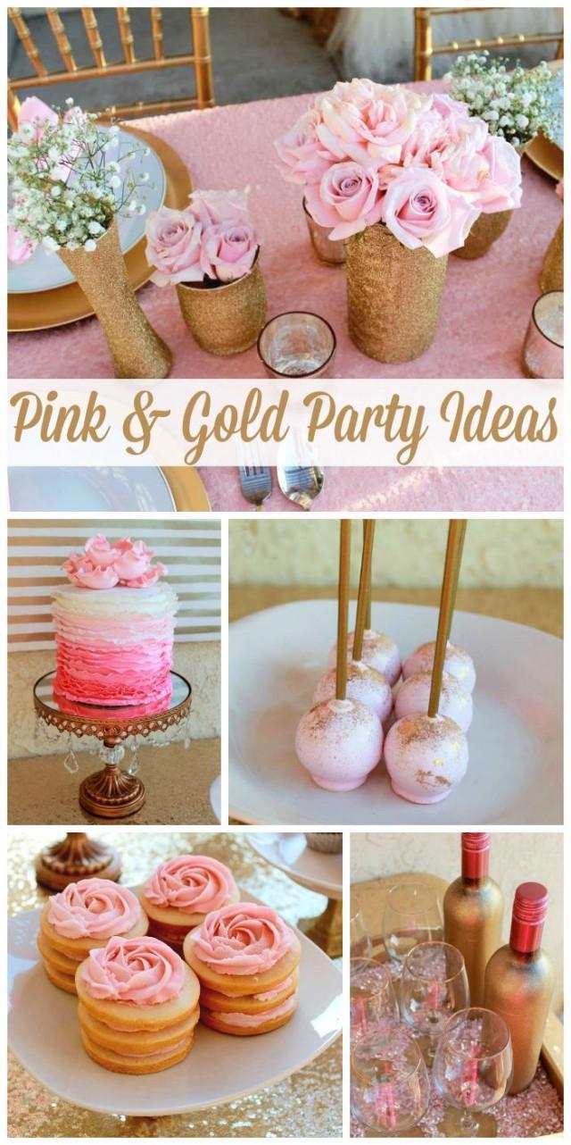 Pink & Gold / Birthday