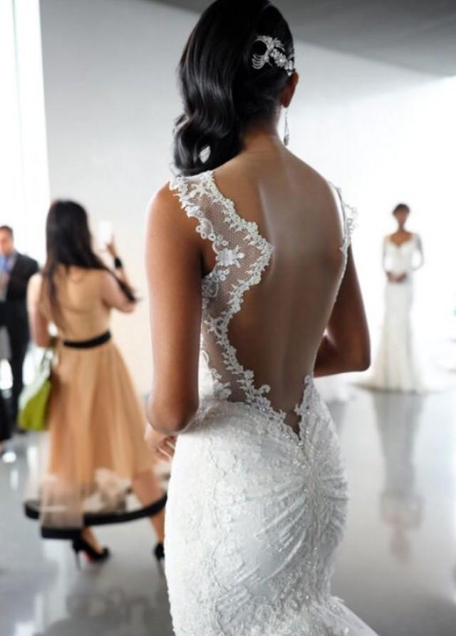 Dress backless wedding gowns 2148581 weddbook for Backless wedding dress bra