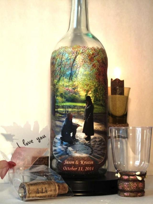 Recycled Wine Bottle Decorations For Your Wedding - Weddbook