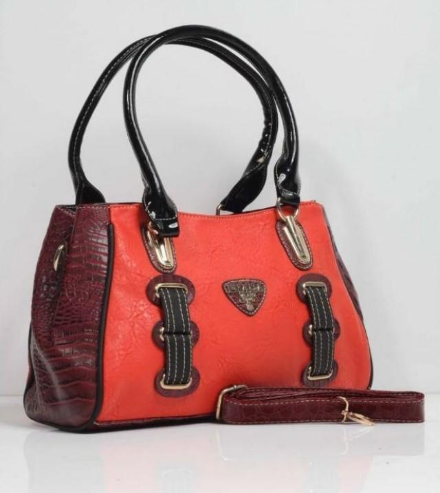 prada bags and purses - Prada Reddish Orange Leather Handbags With Twin Handles #2151851 ...