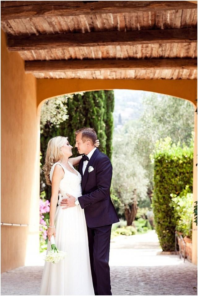 wedding photo - Elegant wedding in Grasse, South of France