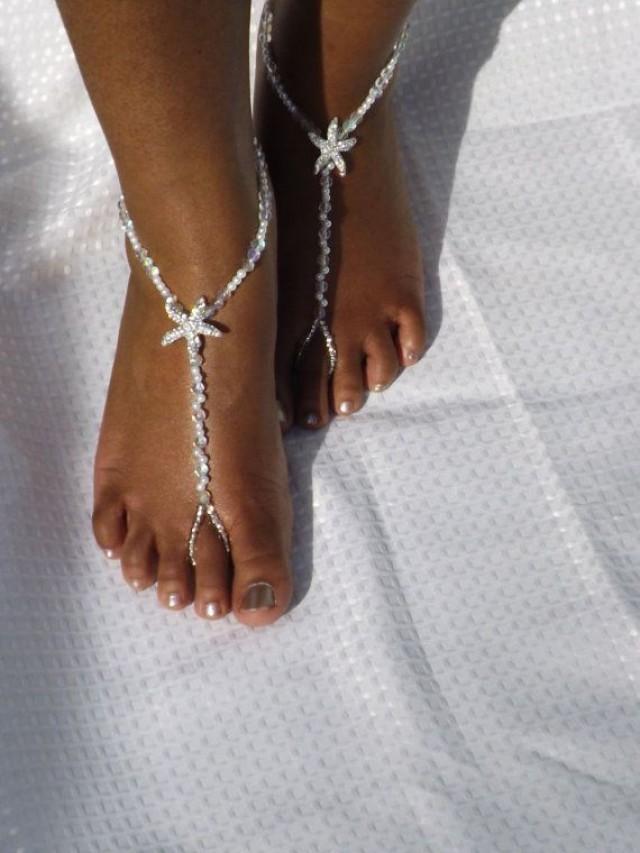 Bridal Jewelry Barefoot Sandals Wedding Foot Jewelry ...