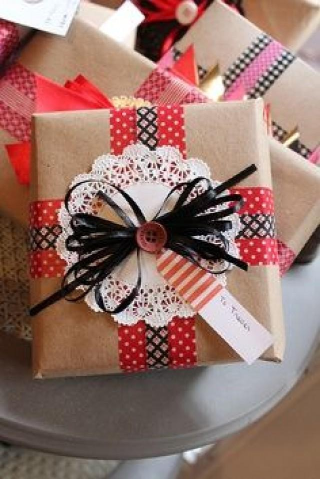 Verpackungen gift wrapping