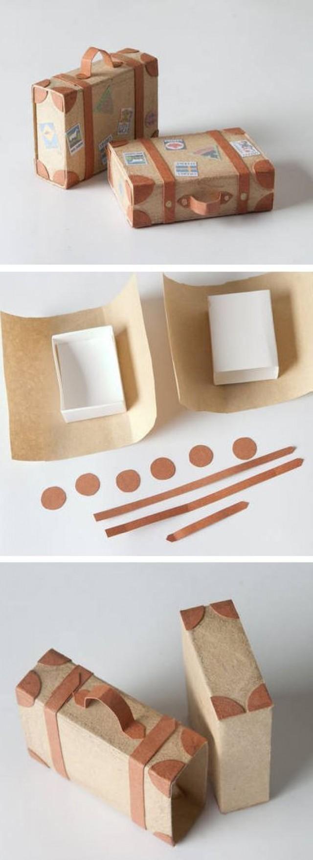 Подарок своими руками из спичечных коробков