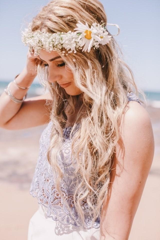 Hippie wedding hairstyles
