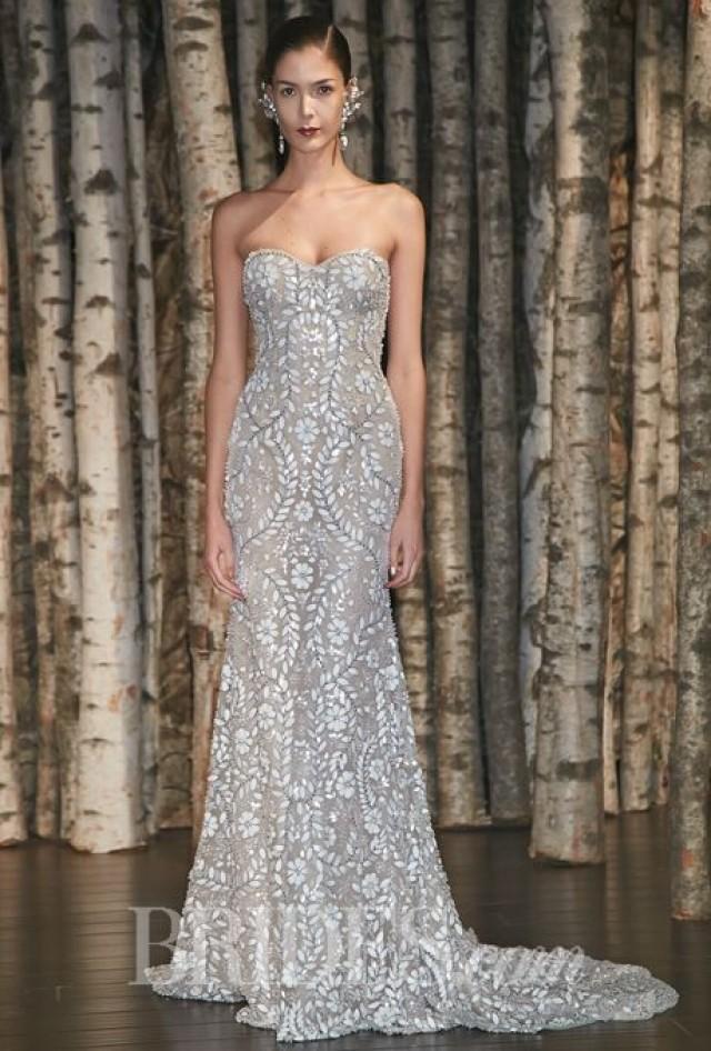 Strapless dresses spring 2015 wedding dress trends 2159501