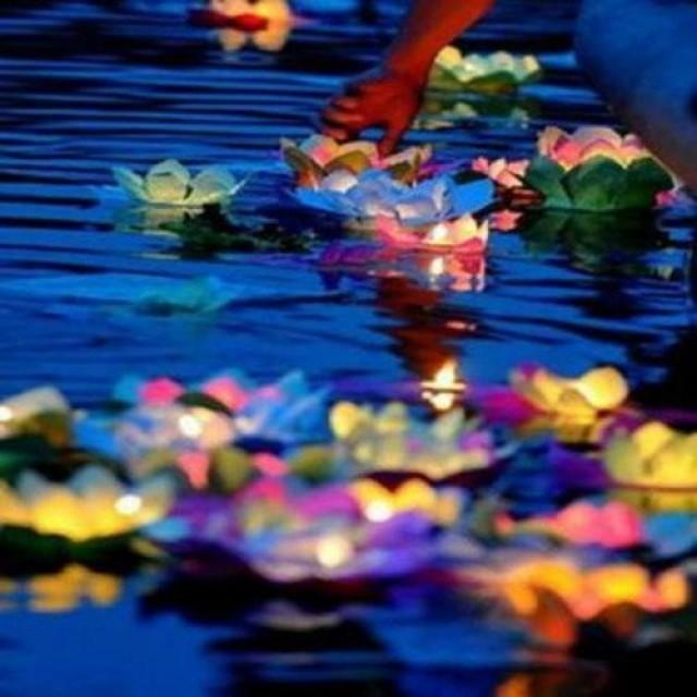 how to make floating lanterns for pool