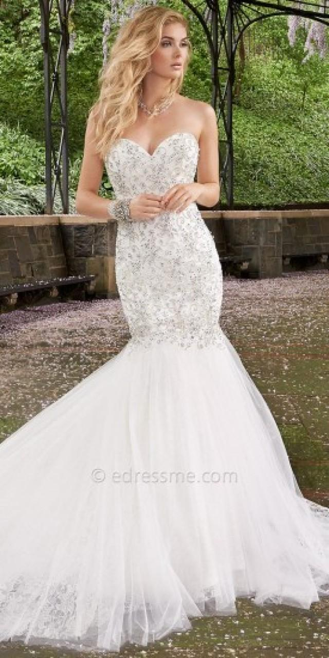 Camille la vie rhinestone drop waist wedding dresses for Camille la vie wedding dresses