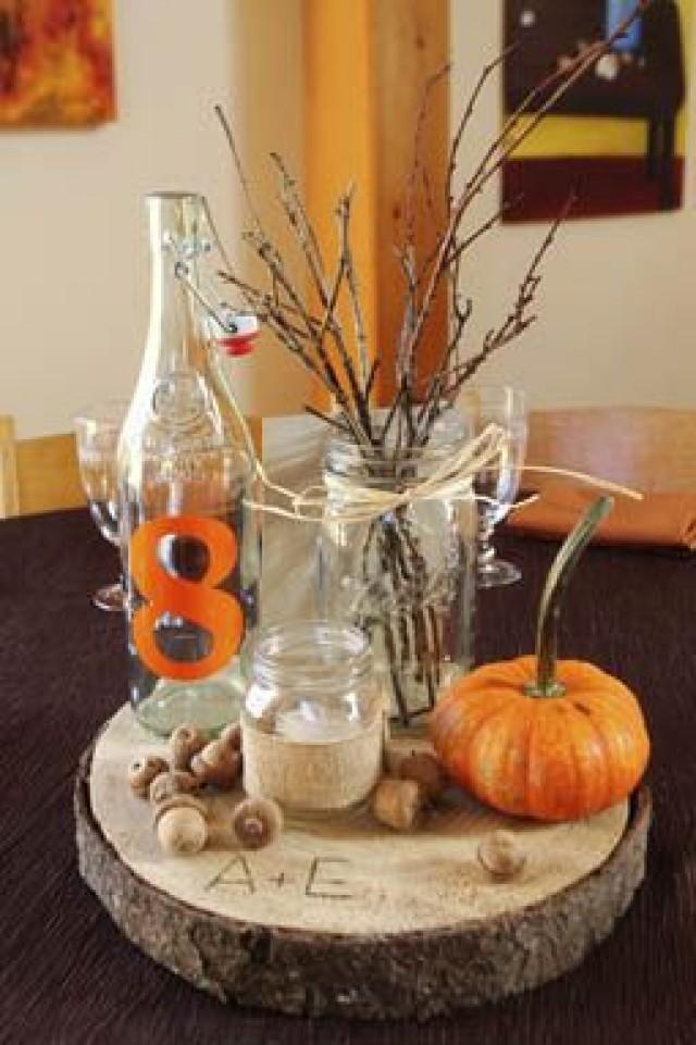 Diy Fall Wedding Centerpieces