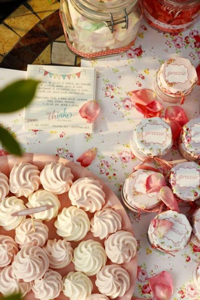 Bridal Shower - Pink And Rose Birthday Party Ideas #2164285 - Weddbook