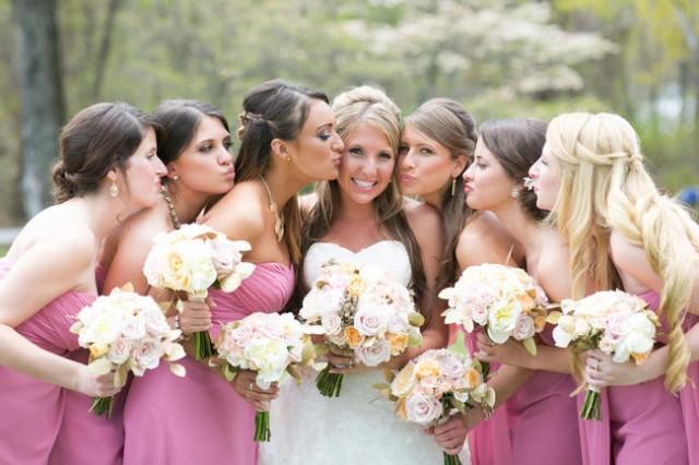 Elegant, Rustic Wedding In Blush, Cream & Glittering Gold