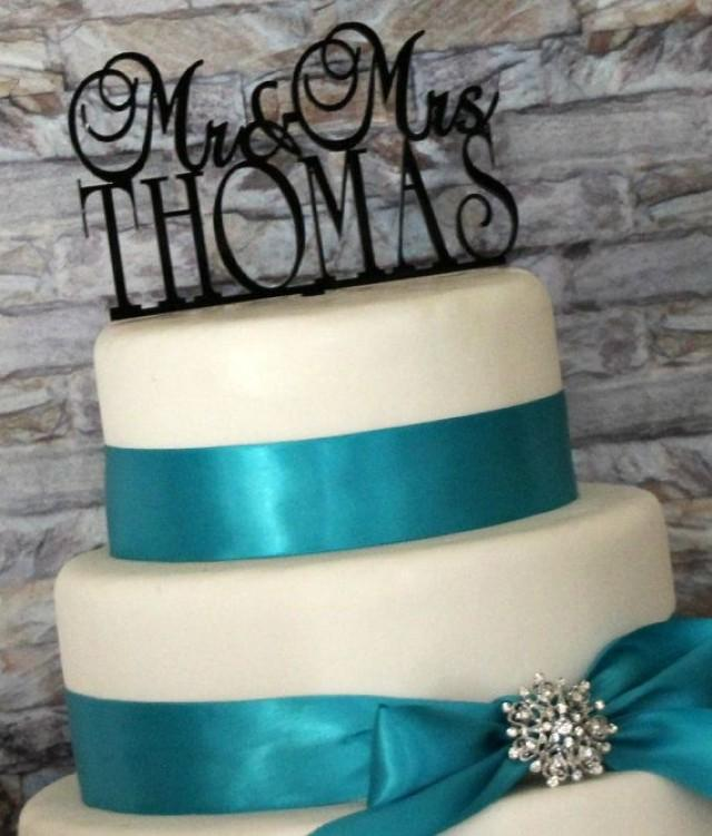 Personalized Custom Wedding Cake Topper With YOUR Last Name 2165808 Weddbook