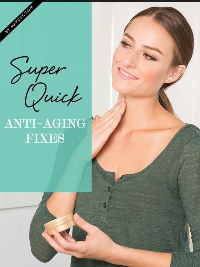 super quick anti aging fixes weddbook. Black Bedroom Furniture Sets. Home Design Ideas