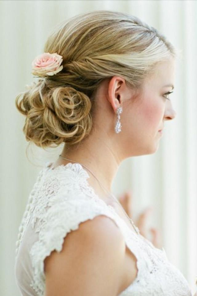 wedding photo - A Bridesmaid's Hair