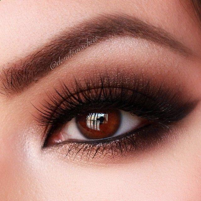 dc7e61ae122d0db90f264b7be96046ec-prom-makeup-winged ... |Prom Makeup For Brown Eyes