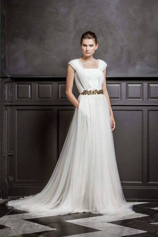 quiero una boda perfecta: 10 vestidos de novia sencillos, elegantes