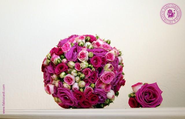 wedding photo - Impudently fuchsia