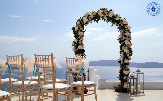 wedding photo - Wedding arch