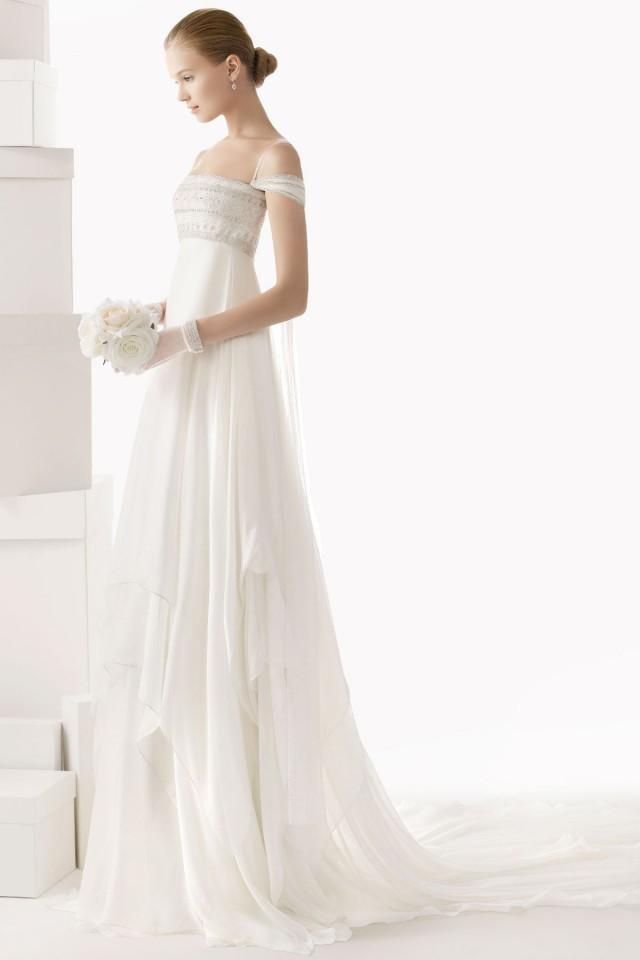 wedding photo - Sexy Spaghetti Straps Draping Tulle Wedding Dress Online