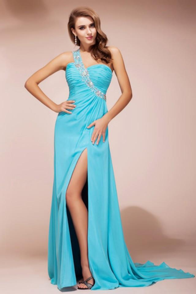 wedding photo - Carlisle Slit Front Evening Dress