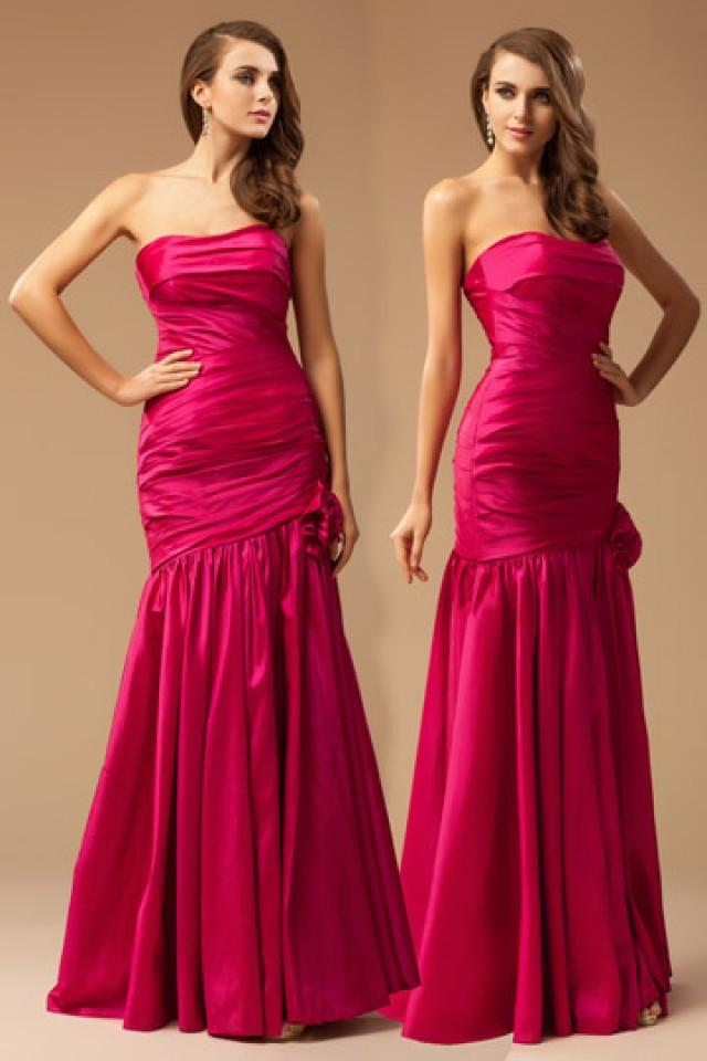 wedding photo - Chichester Fuchsia Trumpet Prom Dress