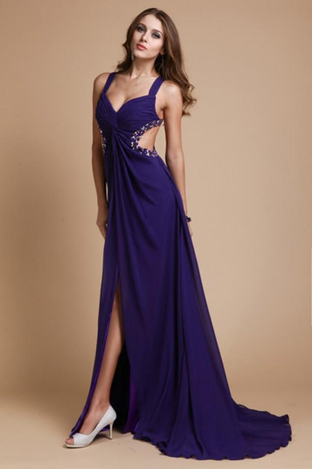 wedding photo - Cotgrave New Sweetheart Straps Split Prom Dress