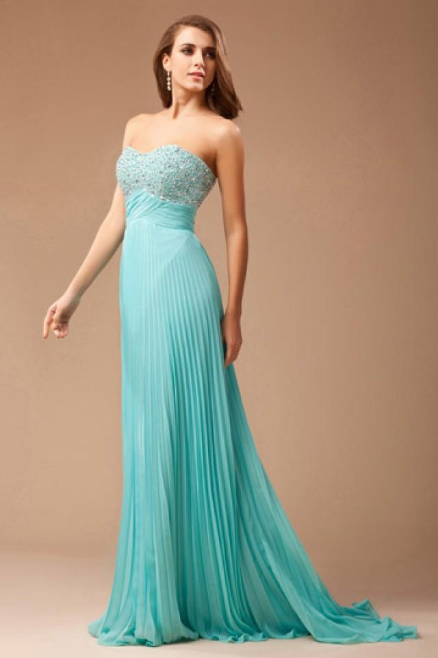 wedding photo - Crawley Elegant Pleated Prom Dress