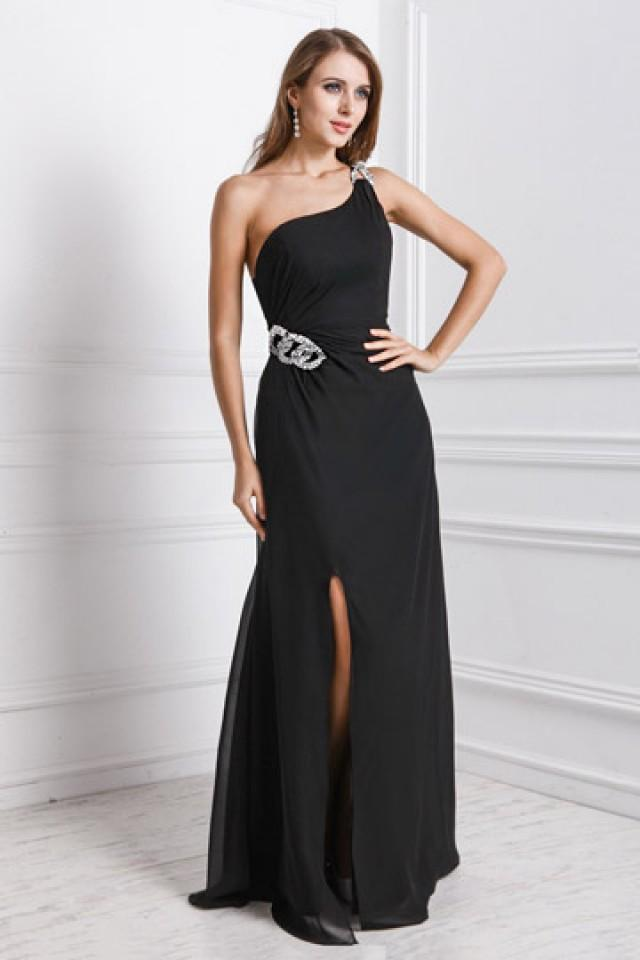 wedding photo - Devizes Elastice Split Front Evening Gown