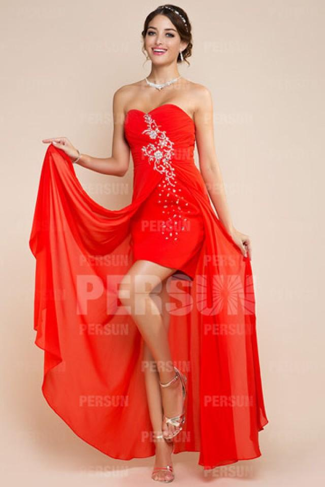 wedding photo - Fordingbridge Sweetheart Asymmetric Prom Gown