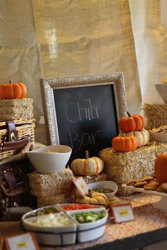 33 cute and cozy fall wedding food bars weddingomania weddbook. Black Bedroom Furniture Sets. Home Design Ideas