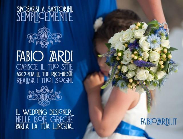 wedding photo - Sposarsi a Santorini, semplicemente