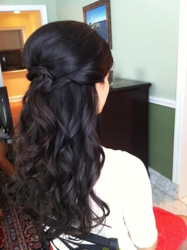 Фото прическа на густые длинные волосы