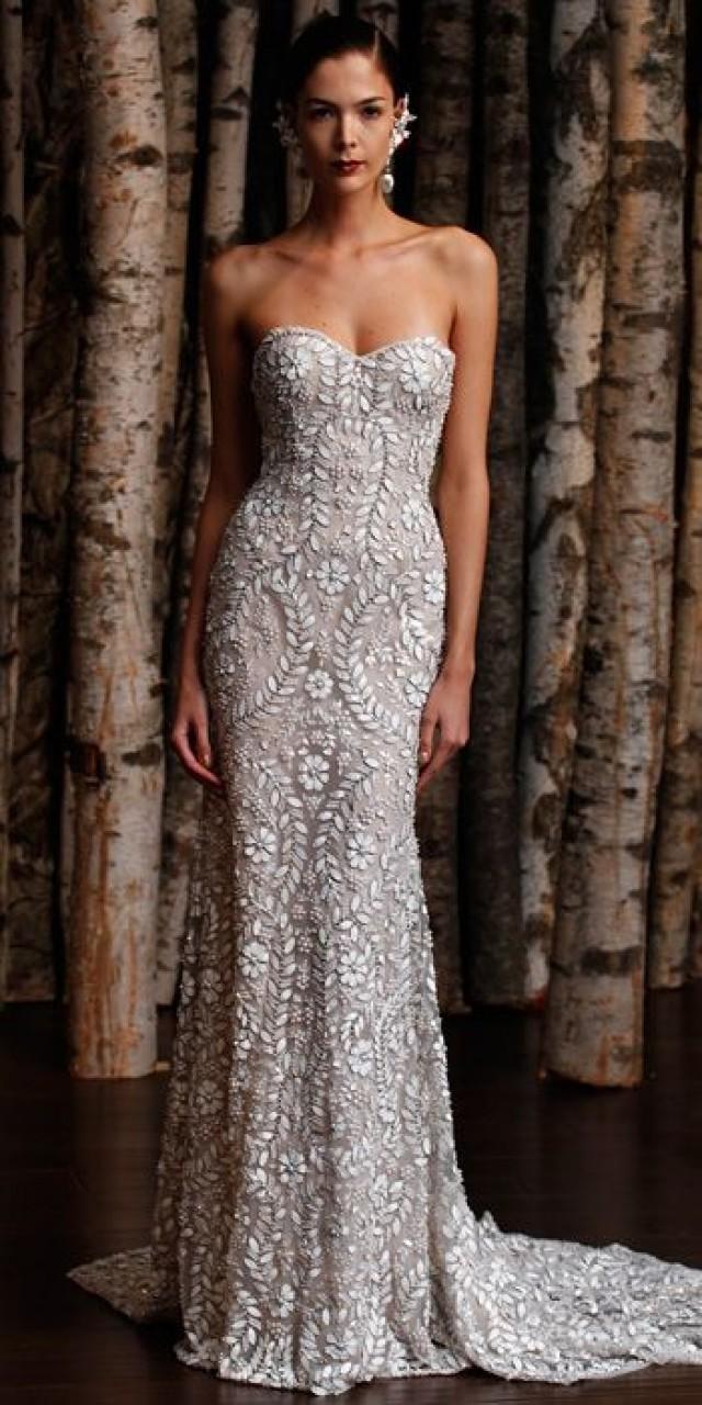 Naeem khan spring 2015 bridal collection naeem khan for Naeem khan wedding dress