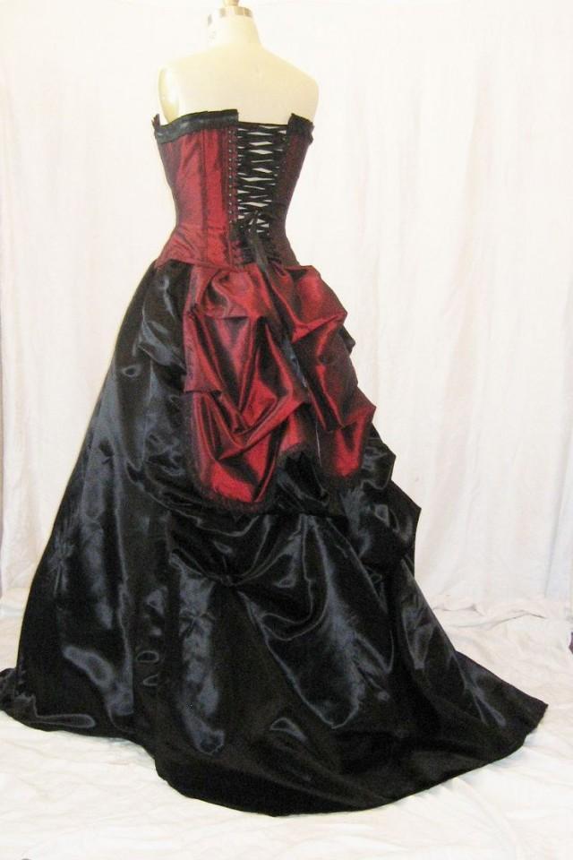 Vampire Bridesmaid Dresses 45