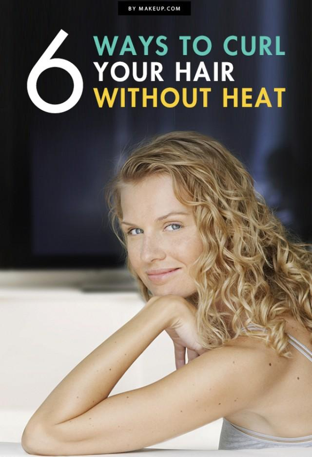 6 Ways To Curl Your Hair Without Heat Weddbook