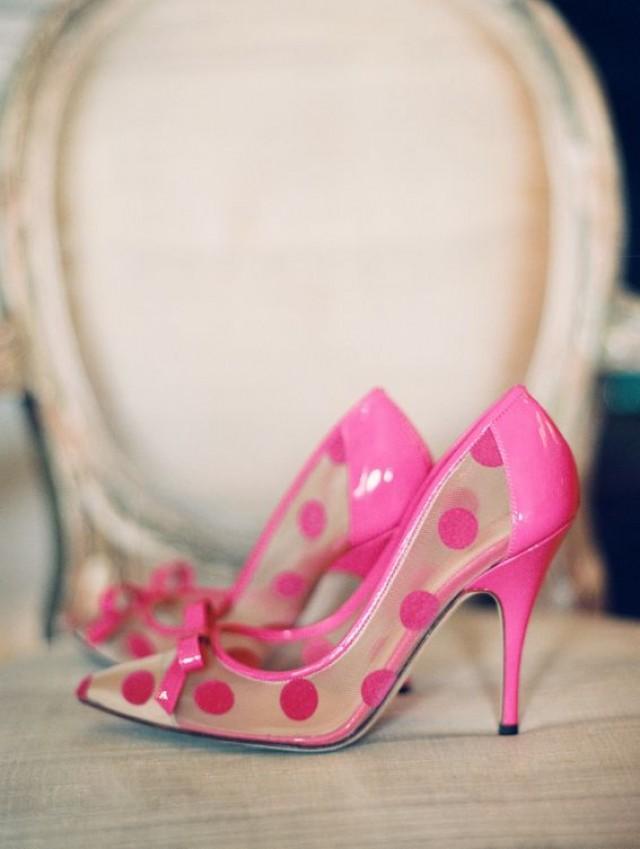 Fuscia Pink Wedding Shoes