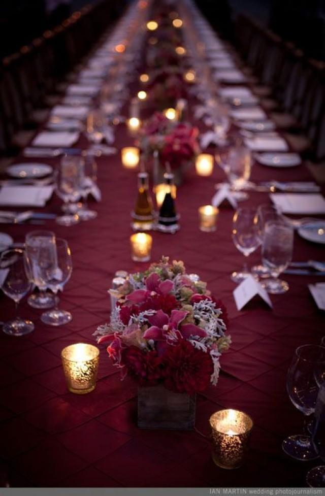 Burgundy wedding burgundy wedding theme ideas 2175573 for Burgundy wedding reception decorations