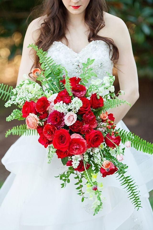 Image result for beauty and the beast wedding bouquets