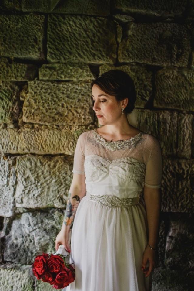 Diy Vintage Romance And A Homemade Wedding Dress Tamar
