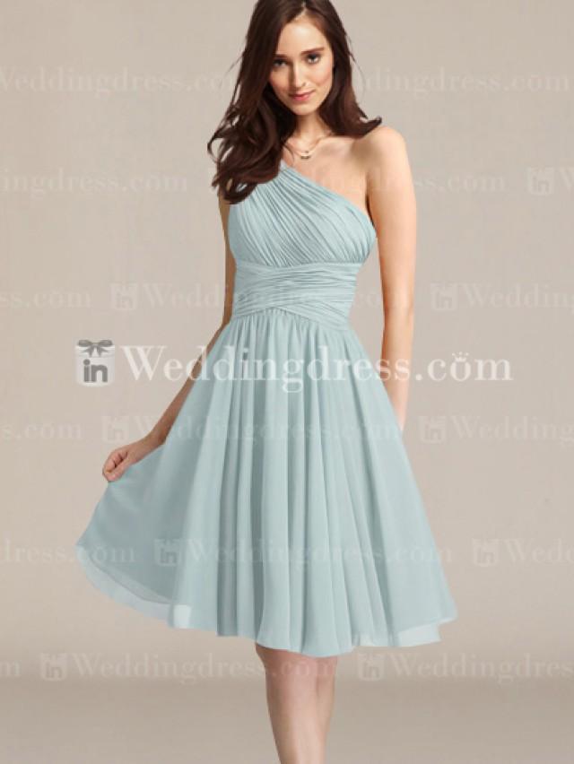 wedding photo - One-Shoulder Bridesmaid dress