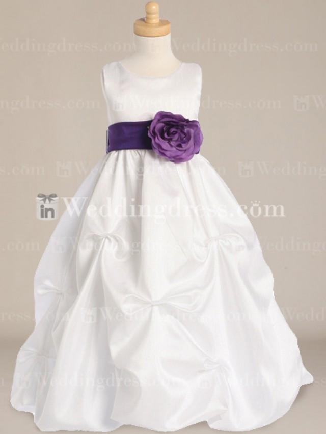 wedding photo - Cheap Flower Girl Dresses