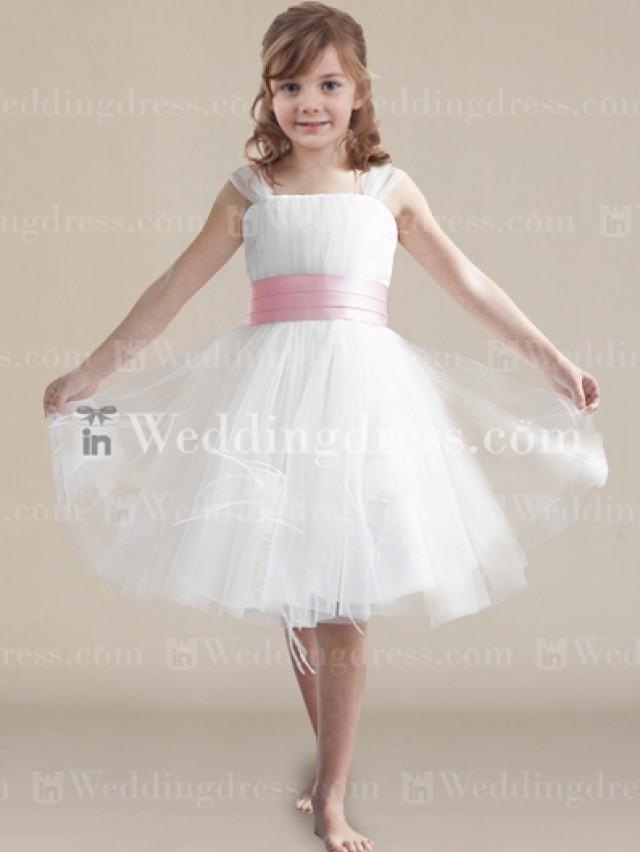 wedding photo - Discount Flower Girl Dress
