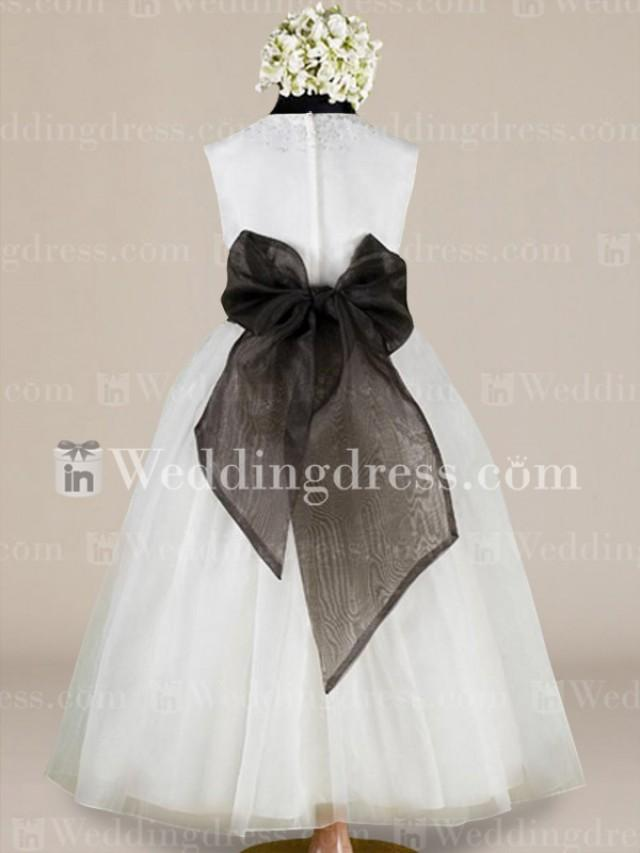 wedding photo - Casual Flower Girl Dresses