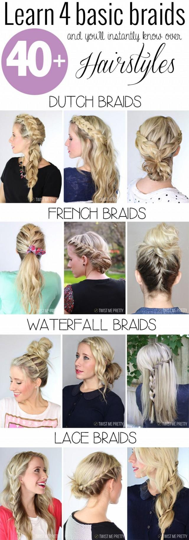 5 pretty braided hairstyles to