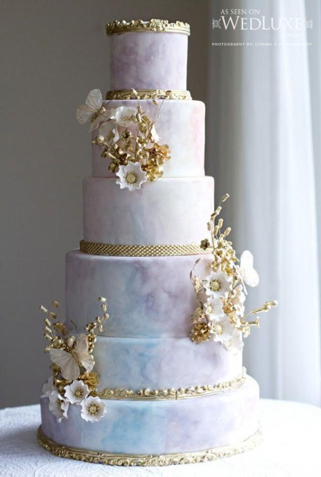 Pastel Wedding Pastel Color Cake 2178161 Weddbook