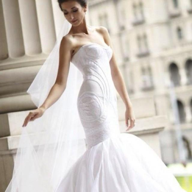 Strapless dresses wedding dresses j 39 aton couture for J aton wedding dress