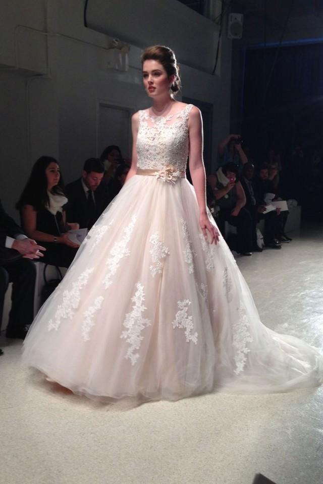 Alfred angelo disney collection 2015 new york bridal for Wedding dress disney collection