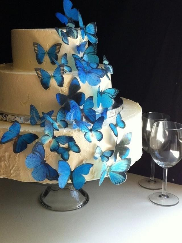 edible butterflies for wedding cakes