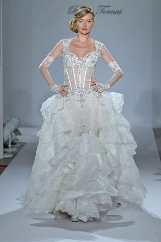 Pnina Tornai Fall 2015 Wedding Dresses - Weddbook