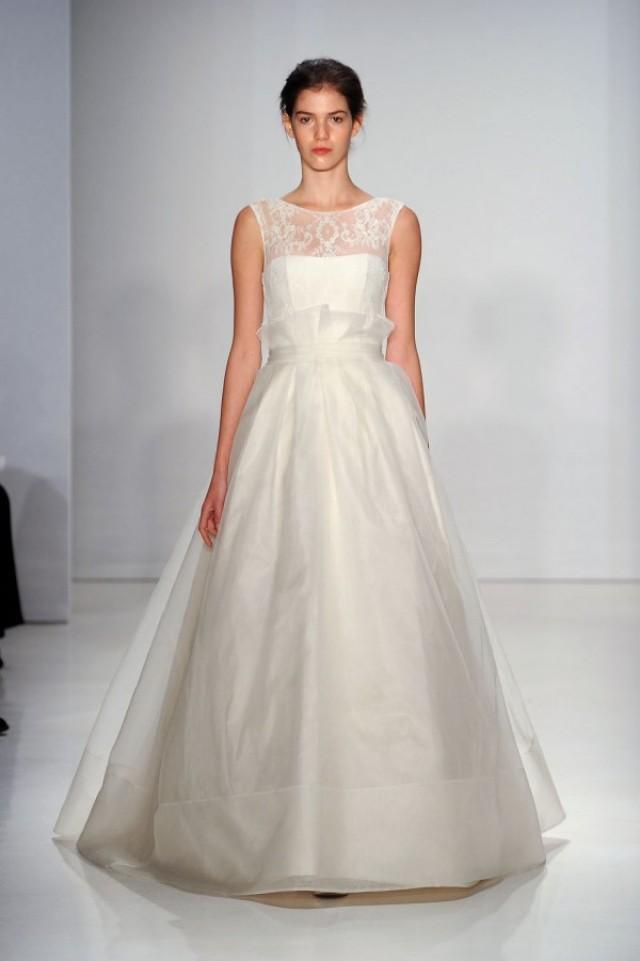 Amsale fall 2015 wedding dresses weddbook for Amsale aberra wedding dresses